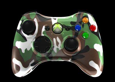 Xbox controller skin visialization for the Xboxcontroller shop