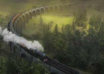 SCOTLAND STEAM TRAIN
